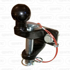 "Universal Combined 50mm Towball Hitch and 1"" Pin & Jaw Coupling Tow ball"