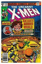 X-MEN #123 (VF) Spider-Man Appearance! Classic Bronze-Age John Byrne Art 1979
