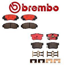 Brembo Front & Rear Ceramic Brake Pads Kit For Acura RDX Honda Crosstour Accord