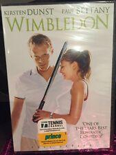 Wimbledon (DVD, 2004, Full Frame) Kirsten Dunst, Paul Bettany/Mfg. Sealed