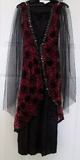 NWT Girl child WINGED VAMPIRESS Scary Halloween Costume size small