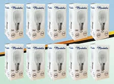 10 X 15W (240V) SES E14 Clear bulbs for Salt/Selenite Lamps