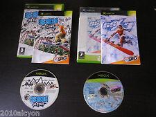 LOT 2 JEUX vidéo Microsoft XBOX : SSX 3 + ON TOUR (snowboard COMPLET suivi)