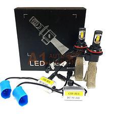 NEW Fanless Canbus 9007 36W LED Headlight Kit 6000K Xenon White Hi/Lo Beam Bulbs