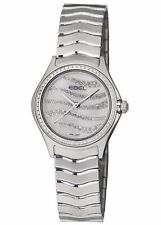 EBEL Wave Diamond White Mother of Pearl Dial Ladies Watch 1216270