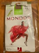 New listing Mondor Rayon From Bamboo 3301  Ice Skating Tights 82 Suntan  Size S-P