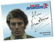 The New Avengers - N-A8 Alun Armstrong - George Harris Autograph/Auto Card 2006