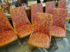 MCM Mid Century Modern Brody Furniture Swivel Dining Chairs set of 8