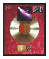 Queen - Queen 1973 Goldene Schallplatte im Rahmen