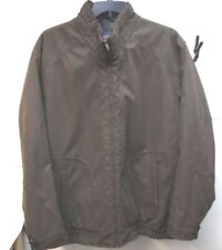 Roundtree & Yorke Tall Man Size XLT Brown Water Resistant New Mens Jacket