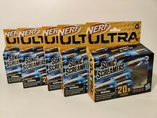 Nerf Ultra SONIC SCREAMERS NEW 2020! 5 Packs Whistler 100 Darts Gun Refill Ammo