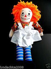 Vintage Raggedy Ann Rag Doll (20 INCHES)