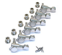 NEW Gotoh 6 In Line Mini TUNERS for Electric Guitar 16:1 Chrome TK-0760-010