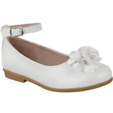 ab4de18a78d3d Girls Kids Childrens Low Heel Party Wedding Mary Jane Sparkly Sandals Shoes  Size