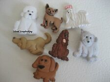 """Dress it Up """"Puppy Parade"""" Buttons Dogs"""