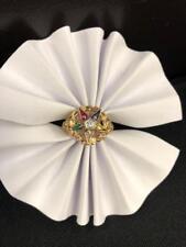 10ky Ladies Eastern Star Ring