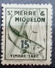 SAINT PIERRE ET MIQUELON - 1938 - TIMBRE TAXE - NEUF **