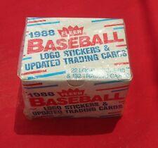 1988 FLEER BASEBALL UPDATE SET