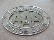 Vintage Lackwanna NY car badge for Ford Chev Chrysler Dodge Buick Pontiac