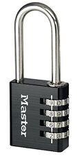 Masterlock 7640eurdblklh Black 40mm 4 Dígitos candado Combinación 51mm grillete