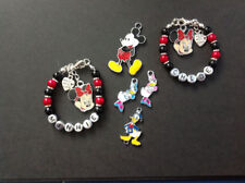 *Handmade Childrens Mickey Mouse/Minnie Mouse Personalised Bracelets - Gift*