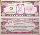 25 Pink Breast Cancer Awareness Cure Ribbon - Million Dollar Money Bill Set