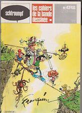SCHTROUMPF n°47 / 48. FRANQUIN.  Les Cahiers de la Bande Dessinée. 1980