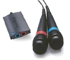 2 Singstar Mikrofone + USB Adapter (PS2) Sing Star PS2 + PS3