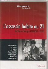 """DVD """"L'ASSASSIN HABITE AU 21"""" - PIERRE FRESNAY - SUZY DELAIR -neuf sous blister"""