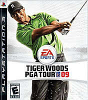 Tiger Woods PGA 09 PLAYSTATION 3 (PS3) Sports (Video Game) Tested