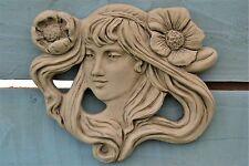 Wall Plaque Stone Garden Ornament (Emily)