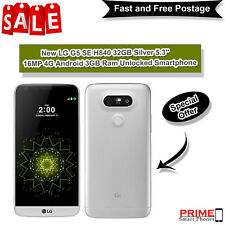 "New LG G5 SE H840 32GB Silver 5.3"" 16MP 4G Android 3GB Ram Unlocked Smartphone"