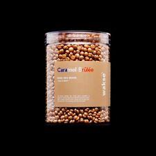 Wakse Hard Wax Beans, Melting Pot & App Sticks, Face & Body Caramel Brûlée NEW