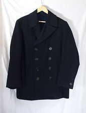 Y's For Men Yohji Yamamoto Navy Blue Pea Coat