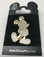 Disney Mickey Mouse Jeweled  PIN  2007 Walt Disney Disneyland Disneyworld Jewels