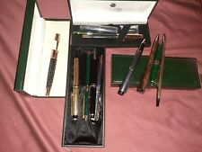Montblanc, Monte Verde, Cartier and others, Fountain And Ball Pin Lot !!!