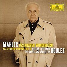 Mahler : Des Knaben Wunderhorn, Symphonie N 10 - CD - **Mint Condition**