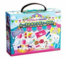 New Kutsuwa Fuwa Fuwa Mousse Paper Clay Making Kit Craft Candy Shop DIY Japan