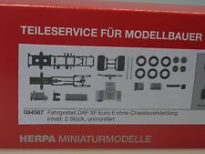 Herpa DAF XF Euro 6, Fahrgestell ohne Chassisverkleidung - 084567 - 1/87