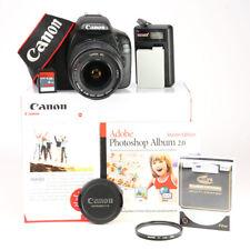 Canon EOS 550D DSLR Camera + Canon EF-S 18-55mm II USM Zoom Lens Kit + 1080p HD