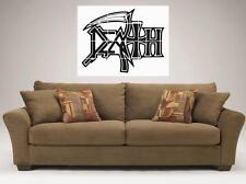 """DEATH MOSAIC TILE 36"""" BY 32"""" INCH WALL POSTER METAL BAND"""