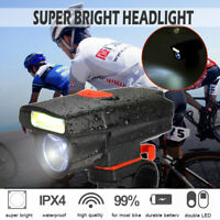AAA Battery Bike Headlight LED Lamp Bicycle Front Head Light Cycling Flashlight