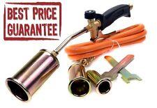 Chauffage gaz propane butane torche brûleur tuyau Régulateur les couvreurs plombiers Kit