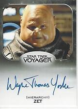 Star Trek 50th Anniversary Aliens Expansion Wayne Yorke Autograph