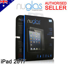 2x Genuine Nuglas Apple iPad Air1 2 Premium Tempered Glass Screen Protector 2017