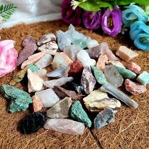 Mixed Gemstone Rough Raw Crystal BULK 100g - 1kg | Natural Spiritual Healing