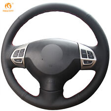 Black Leather Wheel Cover for Mitsubishi Lancer EX Outlander Pajero Sport ASX