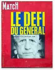 PARIS MATCH Ortoli Clavel Gaulle Biafra Adamo Beatles Esmond Clouzot