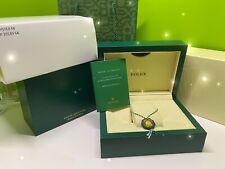Box ♛ Rolex ♛ Geneve Suisse Media Confezione Nuova Rolex Box M Mint 39.139.04