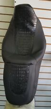 Harley Street Glide / Road Glide Black Coc Seat Cover